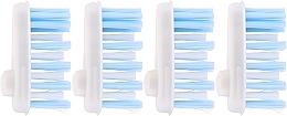 Parfumuri și produse cosmetice Rezerve pentru periuța de dinți, moi - Yaweco Toothbrush Heads Nylon Soft