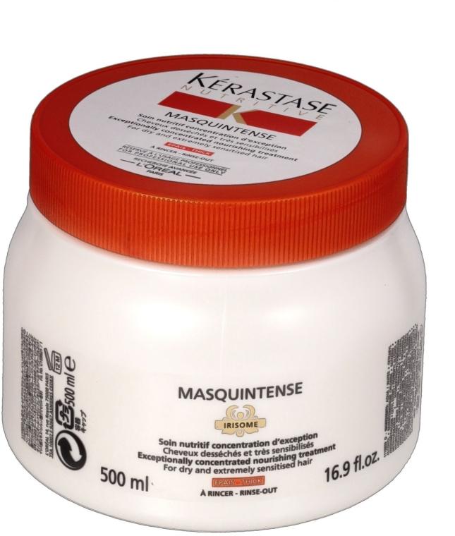 Mască intensivă pentru părul gros, uscat și deteriorat - Kerastase Masquintense Irisome Nutritive — Imagine N2