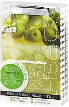 """Parfumuri și produse cosmetice Set pentru pedichiură """"Măsline"""" - Voesh Pedi In A Box Deluxe Pedicure Olive Sensation (35 g)"""