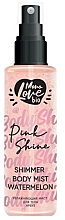 "Parfumuri și produse cosmetice Mist pentru corp ""Ananas"" - MonoLove Bio Shimmer Body Mist Watermelon Pink Shine"