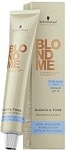 Parfumuri și produse cosmetice Toner decolorant neutralizant - Schwarzkopf Professional BlondMe Bleach & Tone