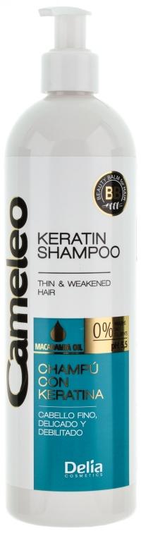 Șampon cu keratină pentru păr - Delia Cameleo Shampoo — Imagine N5