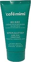 """Parfumuri și produse cosmetice Cremă unt pentru mâini-Protecție """"Finețea și sensibilitatea pielii"""" - Le Cafe de Beaute Cafe Mimi Hand Cream Oil"""