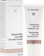 Parfumuri și produse cosmetice Cremă regenerantă pentru gât și decolteu - Dr. Hauschka Regeneration Hals und Dekolletécreme