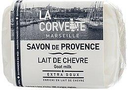 """Parfumuri și produse cosmetice Săpun provensal """"Lapte de capră"""" - La Corvette Provence Soap Goat Milk"""