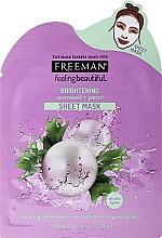 """Parfumuri și produse cosmetice Mască de față """"Extracte de alge si perle"""" - Freeman Brightening Sheer Mask"""
