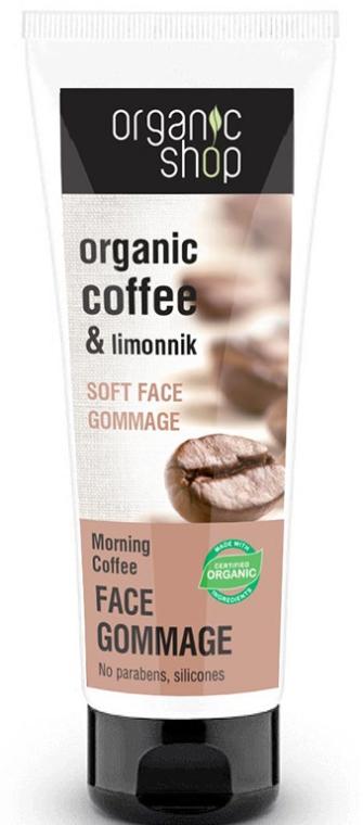 Gomaj soft pentru față - Organic Shop Gommage Face
