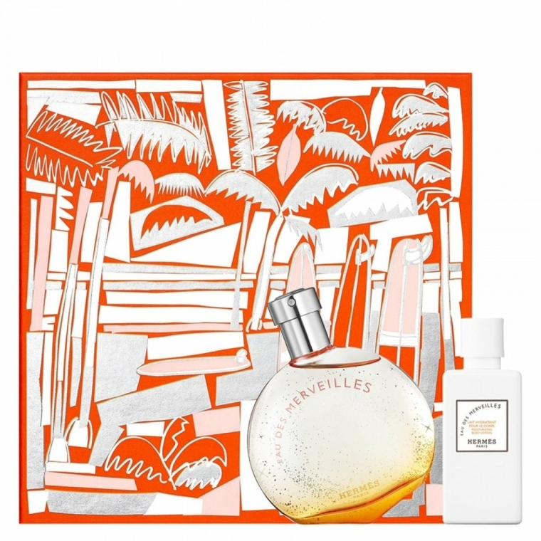 Hermes Eau Des Merveilles - Set (edt/50ml + b/lot/40ml) — Imagine N1