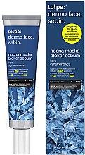 Parfumuri și produse cosmetice Mască de noapte pentru față - Tolpa Dermo Face Sebio Night Blocker Sebum Mask