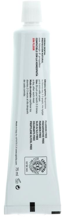 """Pastă de dinți """"Protecție naturală"""" cu fenicul și propolis - Apivita Healthcare Natural Dental Care Bio-Eco Natural Protection Toothpaste With Fennel & Propolis — Imagine N2"""