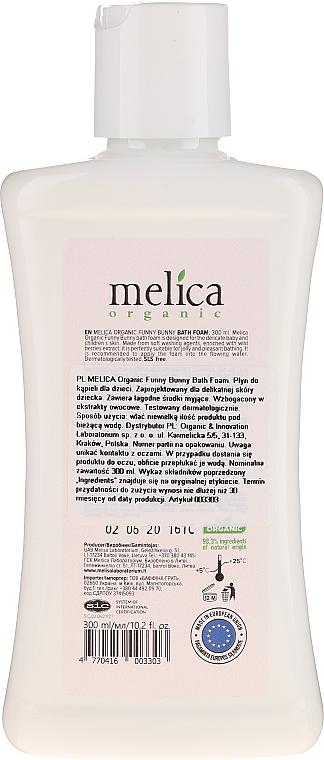 """Spumă de baie """"Bunny"""" - Melica Organic Funny Bunny Bath Foam — Imagine N2"""