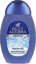 Parfumuri și produse cosmetice Șampon-gel de duș - Felce Azzurra Fresh Ice