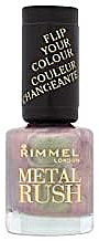 Lac de unghii - Rimmel Metal Rush — Imagine N1