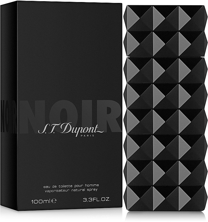 Dupont Noir Pour Homme - Apă de toaletă — Imagine N1
