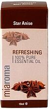 "Parfumuri și produse cosmetice Ulei esențial ""Anason stelat"" - Holland & Barrett Miaroma Star Anise Pure Essential Oil"