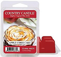 Parfumuri și produse cosmetice Ceară pentru lampă aromată - Country Candle Apple Cider Cake Wax Melts