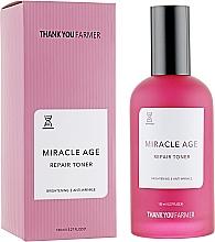 Parfumuri și produse cosmetice Tonic regenerant anti-îmbătrânire - Thank You Farmer Miracle Age Tooner