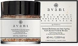 Parfumuri și produse cosmetice Gel anti-îmbătrânire pentru strălucirea tenului - Avant Instant Radiance and Anti-Ageing Gel Charmer Gold & Bronze