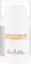 Parfumuri și produse cosmetice Cremă hidratantă cu acid hialuronic - Le Chaton Argente Moisturizer With Hyaluronic Acid