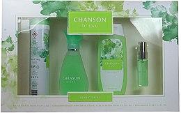 Parfumuri și produse cosmetice Coty Chanson d'Eau - Set (edt/100ml + sh/gel/200ml + deo/200ml + edt/15ml)