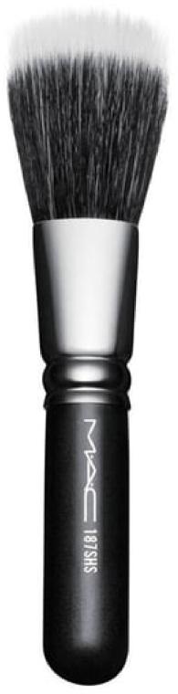 Pensulă pentru pudră 187SHS - M.A.C Duo Fibre Face Brush — Imagine N1