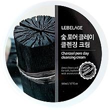 Parfumuri și produse cosmetice Cremă de curățare pentru față - Lebelage Charcoal Pore Clay Cleansing Cream