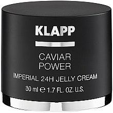 Parfumuri și produse cosmetice Cremă de față - Klapp Caviar Power Imperial 24H Jelly Cream