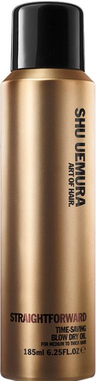 Spray pentru păr - Shu Uemura Art Of Hair Straightforward Time-Saving Blow Dry Oil Spray — Imagine N1