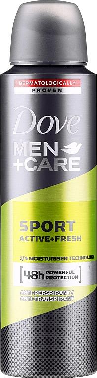 Antiperspirant pentru bărbați - Dove Men+Care Sport Active Fresh — Imagine N1