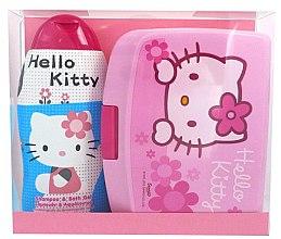 Parfumuri și produse cosmetice Set - Disney Hello Kitty (shm/bath/gel 300ml + lunch box)