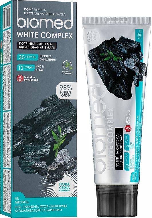 Pastă de dinți - Biomed White Complex