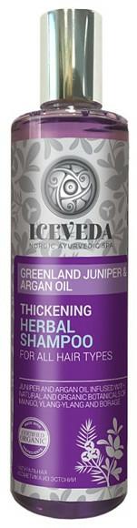 Șampon de păr - Natura Siberica Iceveda Greenland Juniper&Argan Oil Thickening Herbal Shampoo — Imagine N1