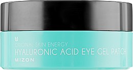 Patch-uri cu acid hialuronic - Mizon Hyaluronic Acid Eye Gel Patch — Imagine N3