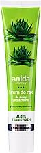 Parfumuri și produse cosmetice Cremă cu aloe pentru mâini - Anida Pharmacy Aloe Hand Cream
