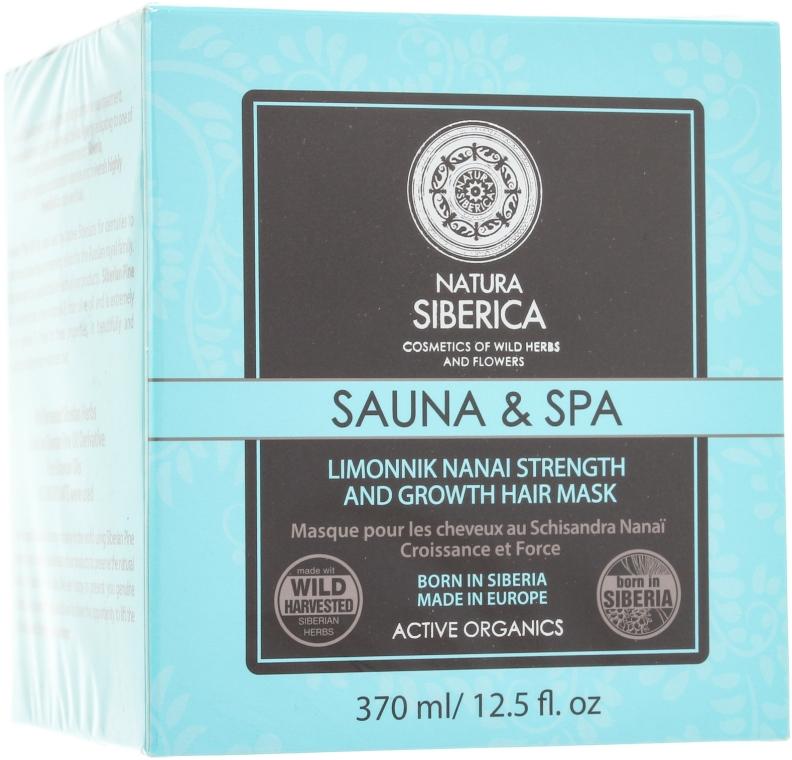 Mască pentru întărirea și creșterea părului - Natura Siberica Sauna & Spa