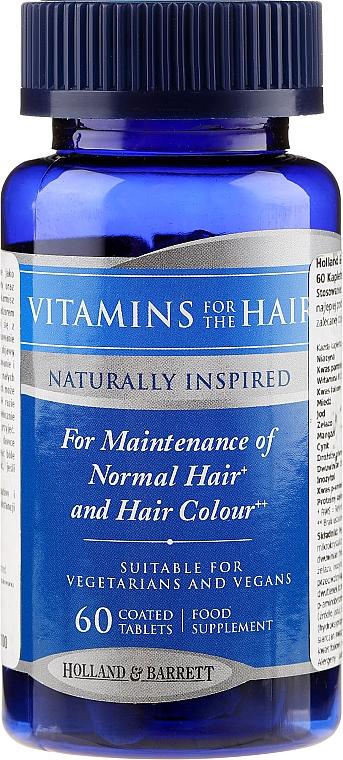 Complex de vitamine și minerale pentru păr - Holland & Barrett Vitamins For The Hair