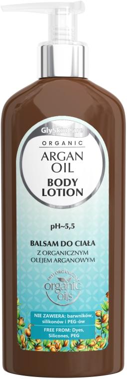 Balsam cu ulei de argan de corp - GlySkinCare Argan Oil Body Lotion