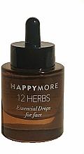 Parfumuri și produse cosmetice Ser de față - Happymore 12 Herbs Essential Drops