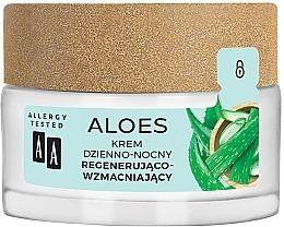 Parfumuri și produse cosmetice Cremă revitalizantă pentru fermitatea feței - AA Aloes Cream
