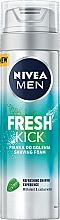 Parfumuri și produse cosmetice Spumă de ras - Nivea For Men Fresh Kick Shaving Foam