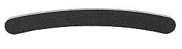 Parfumuri și produse cosmetice Pilă de unghii, neagră, 180/240 - Tools For Beauty Nail File Banana Black