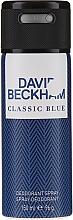 Parfumuri și produse cosmetice David Beckham Classic Blue - Deodorant spray
