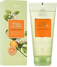 Parfumuri și produse cosmetice Maurer & Wirtz 4711 Acqua Colonia Mandarine & Cardamom - Gel de duș