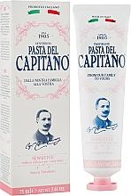 Parfumuri și produse cosmetice Pastă pentru dinți sensibili - Pasta Del Capitano Premium Collection Sensitive Toothpaste