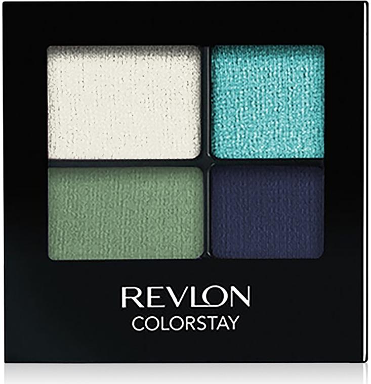 Fard de ochi rezistent - Revlon Colorstay 16 Hour Eyeshadow Quad