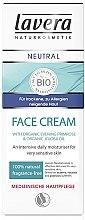 Parfumuri și produse cosmetice Cremă de zi pentru față - Lavera Neutral Face Cream