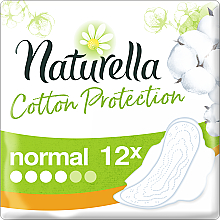 Parfumuri și produse cosmetice Absorbante, 12 bucăți - Naturella Cotton Protection Ultra Normal