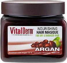Parfumuri și produse cosmetice Mască de păr - VitalDerm Argana