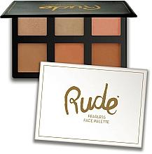 Parfumuri și produse cosmetice Paletă contouring - Rude Fearless Face Palette
