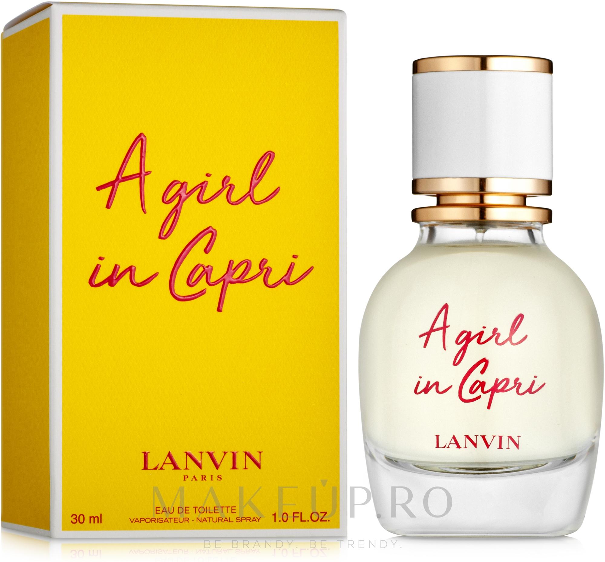 Lanvin A Girl in Capri - Apă de toaletă  — Imagine 30 ml